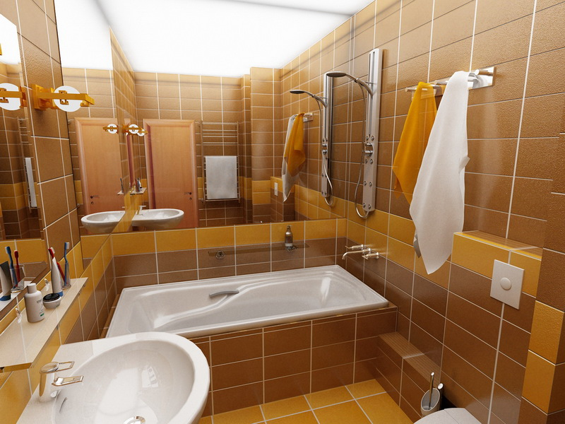 Дизайн ванной комнаты фото 2 3