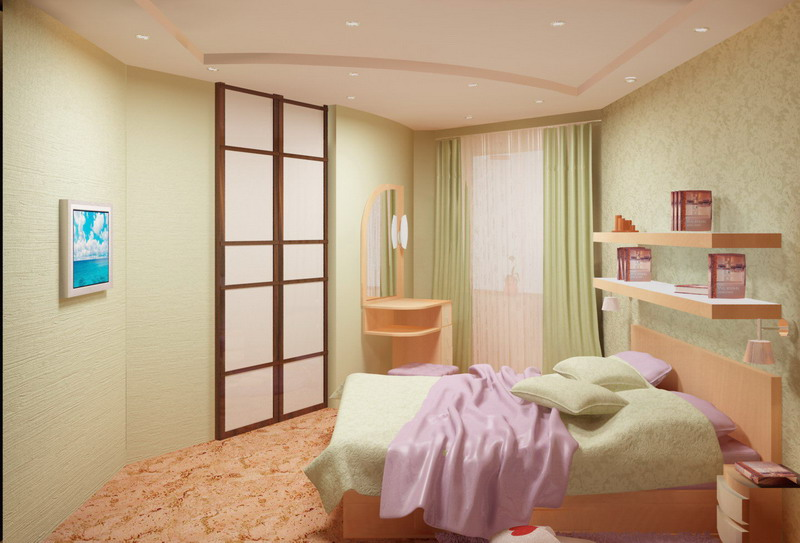 Дизайн одной комнаты 15м2