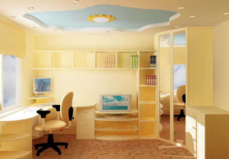 """Детская комната для двоих фото интерьер """" современный дизайн."""